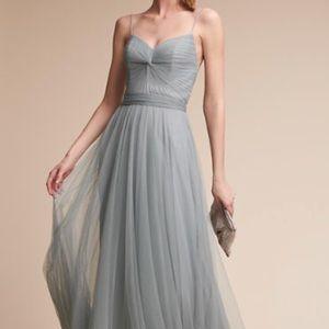 BHLDN Tinsley Dress in French Blue